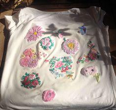 Artistic Flowers T-shirt  Floral Painting 3d Wearable Art