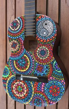 Custom Hand Painted Guitars by SaltyVibesArtwork on Etsy: