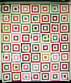 Square in a Square with Kaffe Fassett fabrics