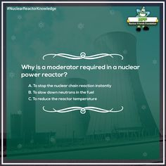 Q2/3 of NFF #NuclearReactorKnowledge Contest. Don't forget to answer using  #NuclearReactorKnowledge @ContestMela