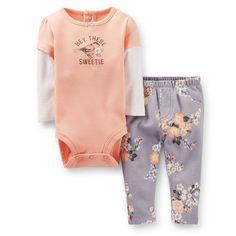 2-Piece Bodysuit & Pant Set | Carter's