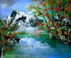 IDYLLIC by Emma Campbell on ArtClick.ie Abstract Contemporary Art