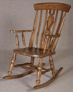 Bon Oak Rocking Chair. A Beautifully Made Solid Oak Rocking Chair With A  Decorative Back U0026 Wide Shaped Seat. Just One Of Our Wooden Rocking Chairs,  Firu2026