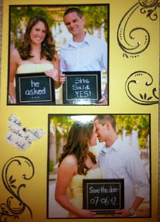 Nadines Save the Date card!