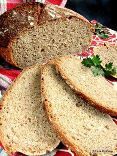 Smaczna Pyza: Chleb pszenno -gryczany, na zakwasie