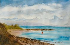 Gurney Art - Water Colours Colours, Watercolor, Painting, Art, Pen And Wash, Art Background, Watercolor Painting, Watercolour, Painting Art