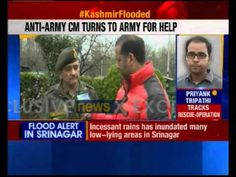 Jammu & Kashmir CM asks for Army support to tackle flood situation