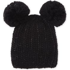 b59064ab1c3 EUGENIA KIM Mimi pom pom beanie hat ( 255) ❤ liked on Polyvore featuring  accessories