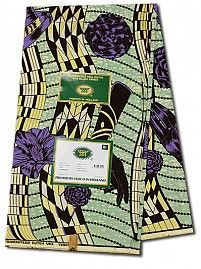 Vlisco Limited Edition Fabric | Vlisco with Gold Thread | Empire Textiles