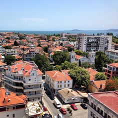 Burgas_Bulgaria_Balkans_Europe Places Around The World, Around The Worlds, Places To See, Places Ive Been, Eslava, European Vacation, Paris Skyline, Instagram Images, Travel Europe