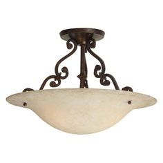 Jeremiah Lighting - X1816-AG sales at Jeremiah Lighting.  Traditional Semi Flush Ceiling Lights in a decorative Aged Bronze finish