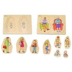 Beleduc Grandma & Grandpa 5 Layer Puzzle