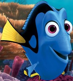 """Dory from Finding Nemo; """"I suffer from short term memory loss. It runs in my family.at least i think it does. Finding Nemo Movie, Dory Finding Nemo, Dory Tattoo, Run Disney Costumes, Disney Challenge, Pixar Characters, Custom Pillow Cases, Keep Swimming, Disney Tattoos"""