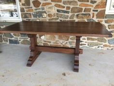 Reclaimed Wood & Barnwood Furniture | Furniture From The Barn | Trestle table
