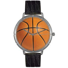 Basketball Lover Black Leather And Silvertone Photo Watch #T0840005 - http://www.artistic-watches.com/2013/02/07/basketball-lover-black-leather-and-silvertone-photo-watch-t0840005/