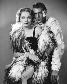 Marlene Dietrich with Gary Cooper