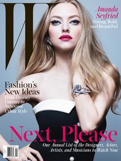 Amanda Seyfried: Young, Bold, and Beautiful on the cover of W's April 2014 issue.