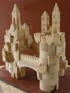 These castle blocks look like so much fun!