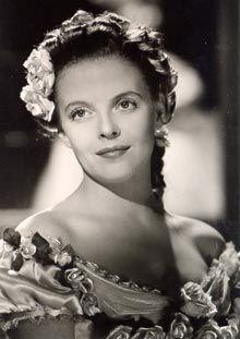 Regina Linnanheimo (1915-1995). Legendary star of Finnish movie melodramateur of 1930s and '40s.