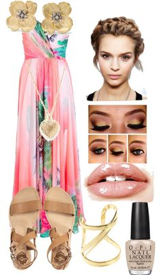 """""""pastel pure"""" by rafiahsaunders ❤ liked on Polyvore"""