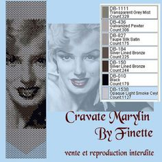 Marilyn Monroe by Finette bead pattern peyote