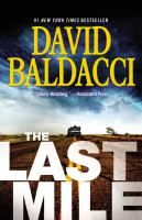 ISBN:	9781455586462 The last mile by Baldacci, David... 09/22/2016