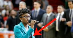 National Anthem Singer Kneels, Opens Shirt, & Reveals 3 Sick Words...                Smfh!!...  - Mad world news