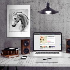 #horse #animals #drawing equine stallion graphic charcoal Animals