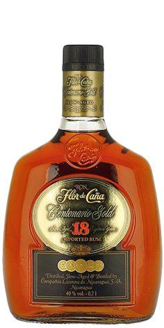 Flor de Cana 18YO Centenario Rum -- Dry Oaky Eruption.In 1890 Francisco Alfredo Pellas built the first distillery of what was to become the Compañía Licorera de Nicaragua at the San Antonio Sugar Mill in Chi...