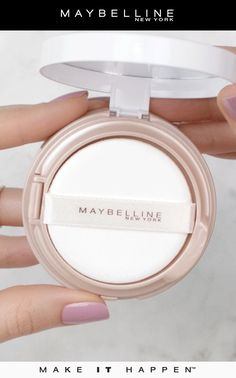 Liquid foundation on-the-go! Maybelline's Dream Cushion Foundation provides a luminous coverage with easy, travel-friendly packaging for touch ups throughout the day!