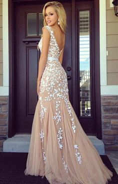 Backless Handmade Prom Dress,Long Prom Dresses,Prom Dresses,Evening Dress, Prom Gowns, Formal Women Dress,prom dress