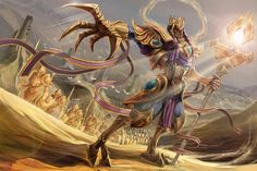 Azir | League of Legends by Oma-om on DeviantArt