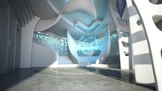 Pharmacy Gate Corporate Architecture Concept by Peter Stasek Architect Natural Structures, Digital Fabrication, Interior Decorating, Interior Design, Concept Architecture, Sound Design, Design Awards, Pharmacy, Interior And Exterior