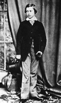 regalmajesty:  The Prince of Wales (late King Edward VII).