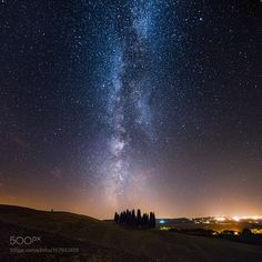 Tuscany - The cypress of San Quirico - Milky way 2  Milky  Camera: NIKON D610 Lens: 14.0 mm f/2.8 Focal Length: 14mm Shutter Speed: 25sec Aperture: f/2.8 ISO/Film: 6400  Image credit: http://ift.tt/2aYeo7D Visit http://ift.tt/1qPHad3 and read how to see the #MilkyWay  #Galaxy #Stars #Nightscape #Astrophotography