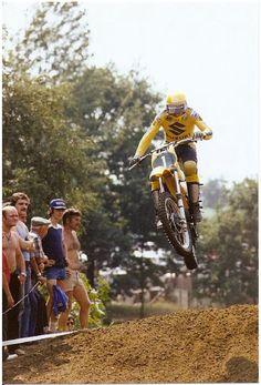 Roger DeCoster - Vintage Suzuki Motocross Champion