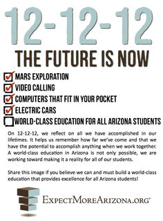 Repin if you think we can & must build a world-class education that provides excellence for all Arizona students!
