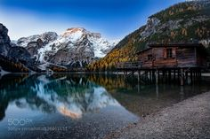 Braies Lake by VittorioDelliPonti. Please Like http://fb.me/go4photos and Follow @go4fotos Thank You. :-)