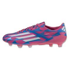 f593a6611 SALE  Adidas F50 Adizero FG- Solar Pink White Solar Blue. Soccer Stop · adidas  Soccer Cleats