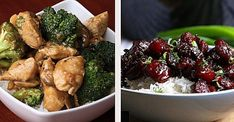 6 Chinese Take-Out-Inspired Dinners Asian Recipes, Ethnic Recipes, Mets, Kung Pao Chicken, Chinese Food, Chicken Wings, Dinner, Vegetables, Cooking
