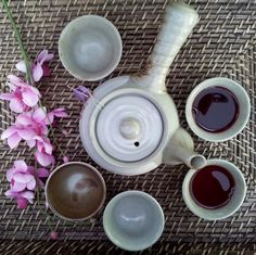 My tea Korean Tea Set. Love it.