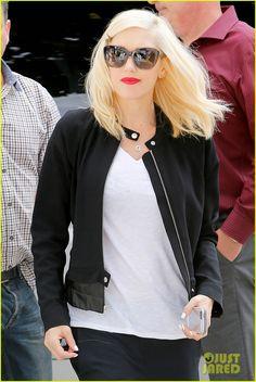 Gwen Stefani wearing Oliver Peoples - Emmy in faded dusk via @justjared