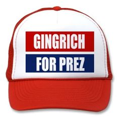 NEWT GINGRICH CAMPAIGN GEAR TRUCKER HAT