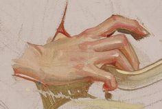 Study of Hands, detail, JC Leyendecker