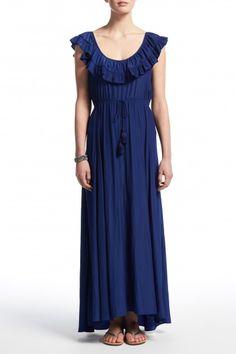 Troylu Ruffle Maxi Dress  | Calypso St. Barth