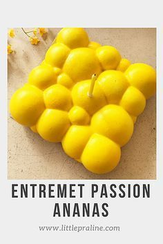 Entremet Cloud Passion & Ananas | Little Praline, pâtisseries around the world