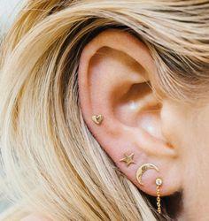 Wist je al dat er 24(!) plekken zijn waarop je een oorbel in je oor kan laten piercen?