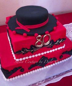 Flamenco theme cake