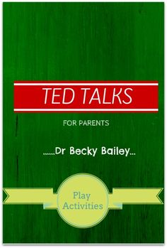 Understanding the neuroscience when that tantrum happens and how we can teach ourselves and our children self control. Dr Becky Bailey shares simple examples