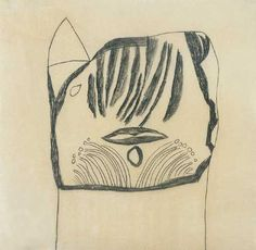 Vajda Lajos - Macskafej / Cat head, 1938 Tattoos, Cats, Animals, Tatuajes, Gatos, Animales, Animaux, Tattoo, Animal